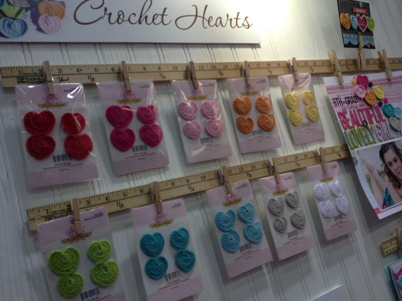 Brand New Crochet Hearts from Bella Blvd