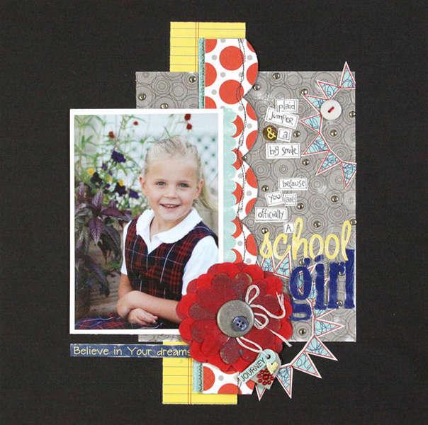 School Girl by Katherin McElvain