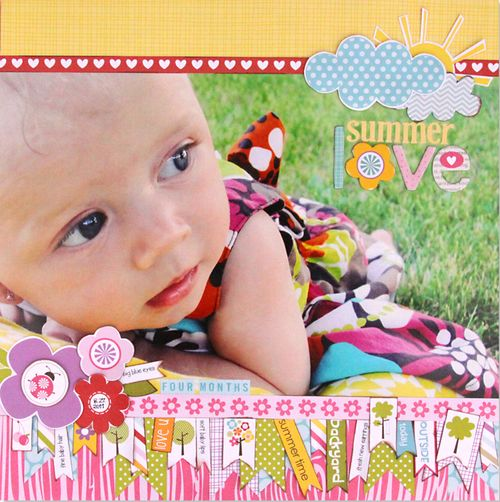 Summer Love by Stephanie Hunt featuring Bella Blvd Sophisticates