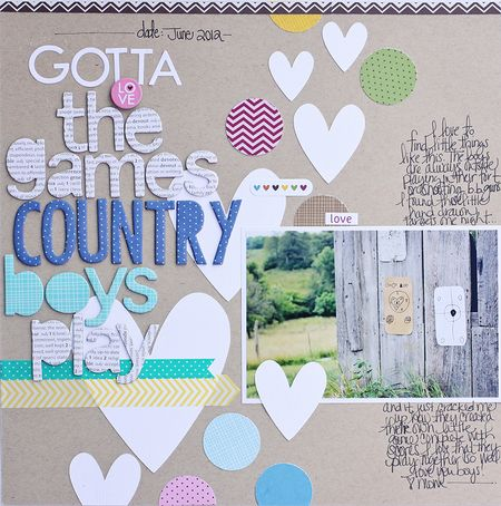 The Games Country Boys Play by Megan Klauer