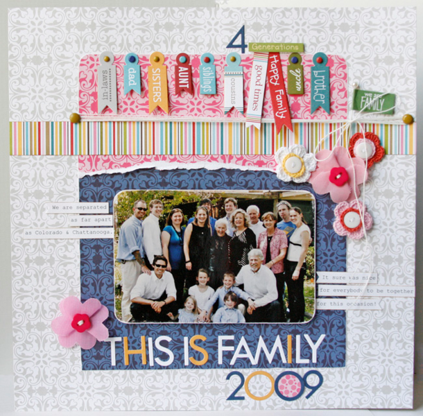 This is Family 2009 by Gretchen McElveen featuring Bella Blvd Sophisticates