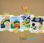 St Patricks Day Parade by Vivian Masket featuring Bella Blvd Designer Tape and Flags