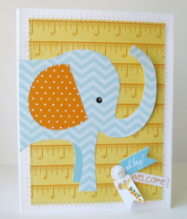 Welcome Baby Boy by kathy Martin featuring Bella Blvd We're Expecting