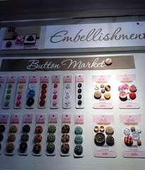 NEW Bella Blvd CHA - Button Embellishments