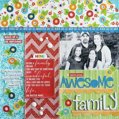 Awesome Family by Laura Vegas featuring Family Frenzy by Bella Blvd