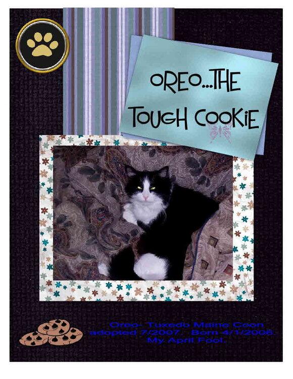 Oreo...My Tough Cookie