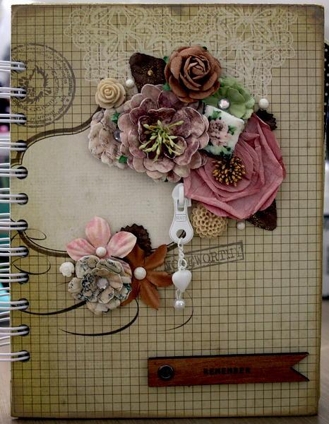 Scrapbook mini album/journal