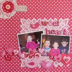 PINK CHALLENGE : Tweet Hearts