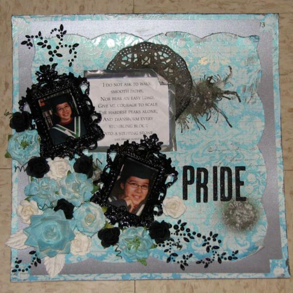 **Paper Mixing Bowl January Recipe Card ** Pride
