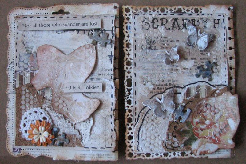 *Swirlydoos Ultimate Design* Art Journal pages week 5