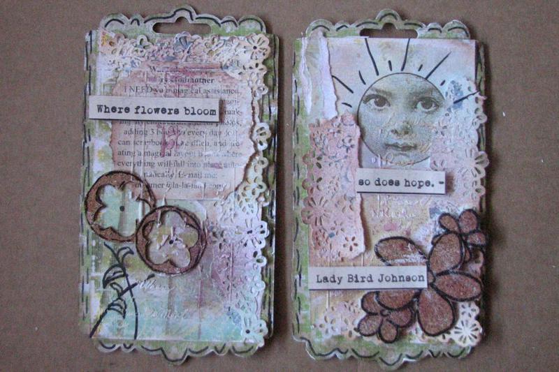 *Swirlydoos Ultimate Design* Art Journal Pages week 5
