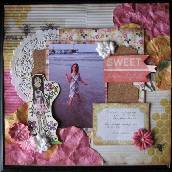 Loves To Scrap *Anything Goes* Challenge #1