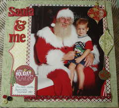 Santa & me
