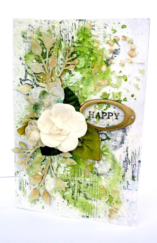 *Blue Fern Studios* Happy St. Patrick's Day card