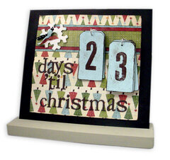 Days 'til Christmas Countdown - Magnet Board