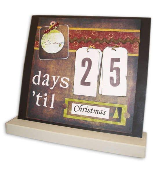 Days 'til Christmas - Interchangeable Magnet Board