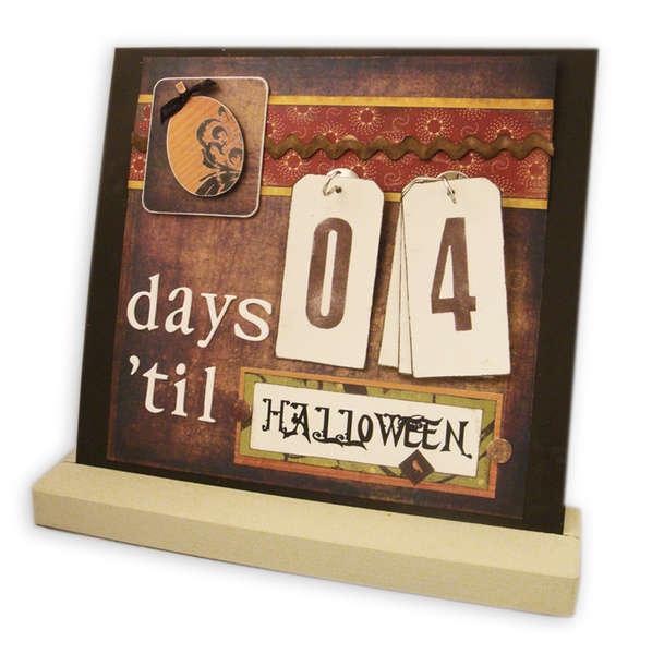 Days 'til Halloween - Interchangeable Magnet Board