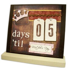 Days 'til Mother's Day - Interchangeable Magnet Board
