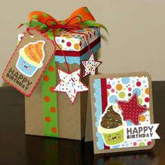 *Imaginisce* Hello Cupcake - card/box set