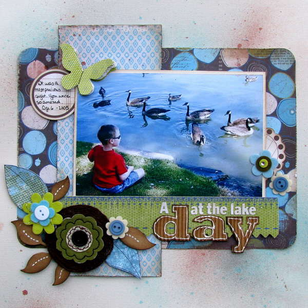 day at the lake - Artful Delight