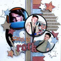 school of rock - Boys Rule Scrapbook Kits
