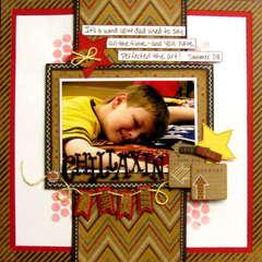 chillaxin - Boys Rule Scrapbook Kits