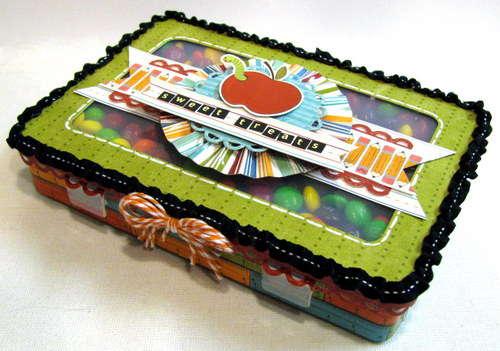 Imaginisce & Scrapbook Adhesives - sweet treats box