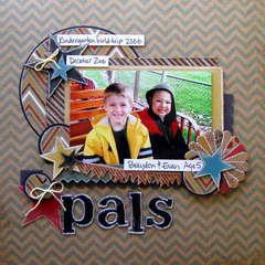 pals - Boys Rule Scrapbook kits