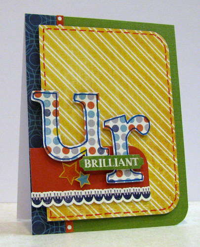 ur brilliant - Boys Rule Scrapbook Kits