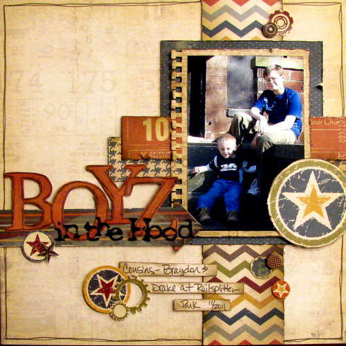 boyz in the hood - Boys Rule Scrapbook Kits