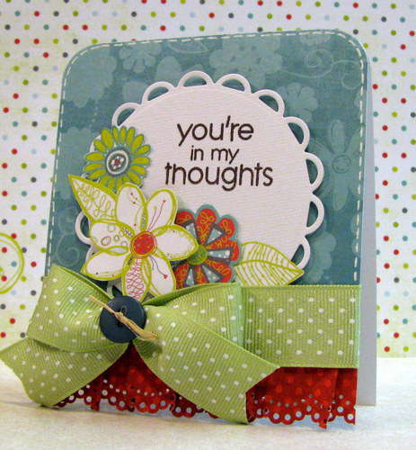 you're in my thoughts - The Paper Variety