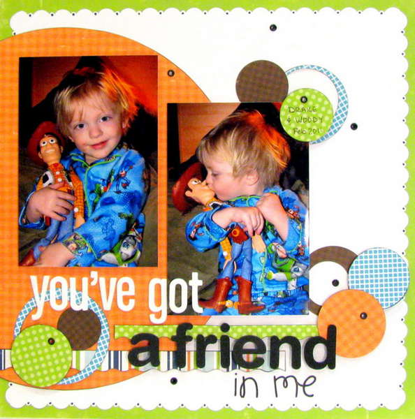 you've got a friend - The Paper Variety