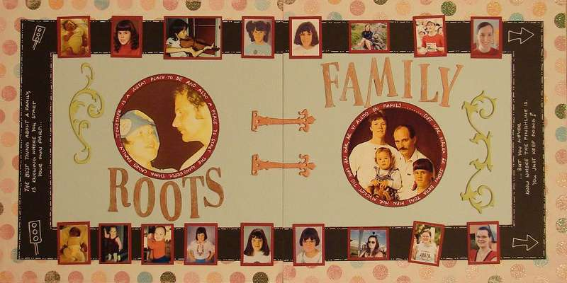 Roots and Family - doublepage