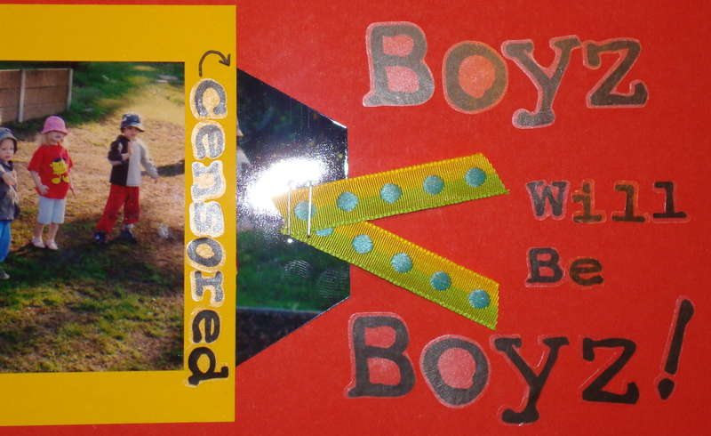 Boyz will be Boyz