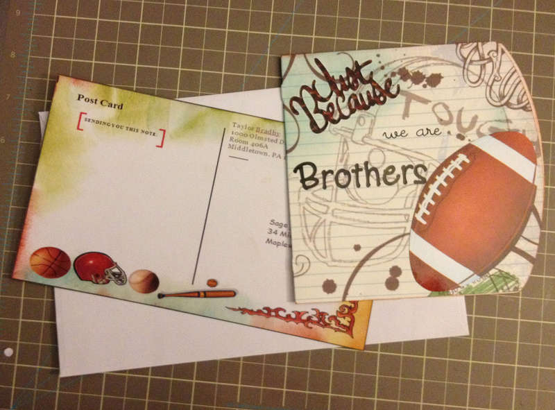Note Card 05 - Brothers
