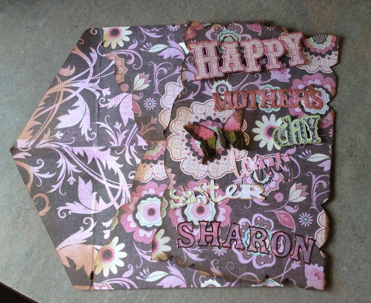 2012 Sister Sharon card