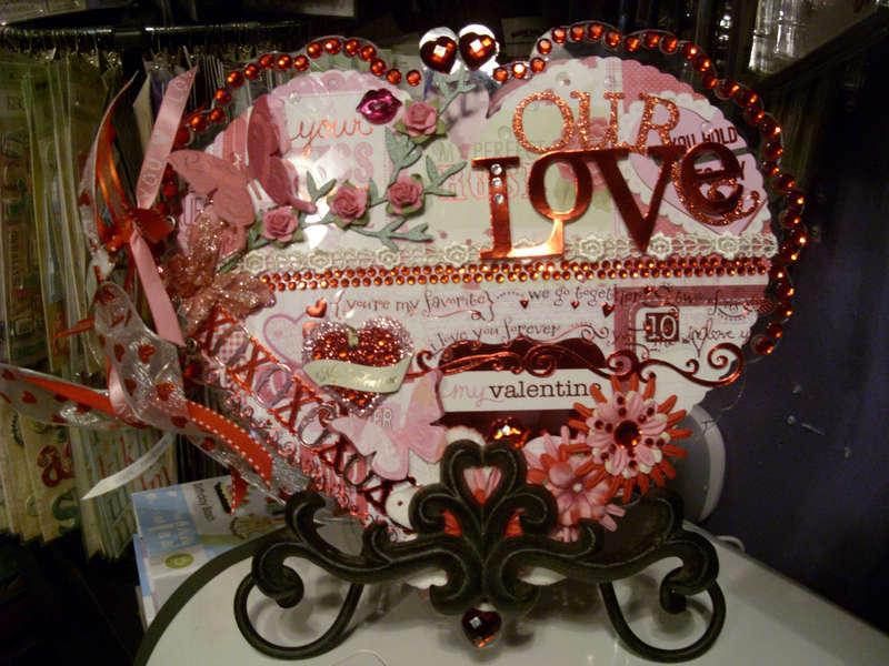 ~~Love Album_Valentine's Day~~ on stand