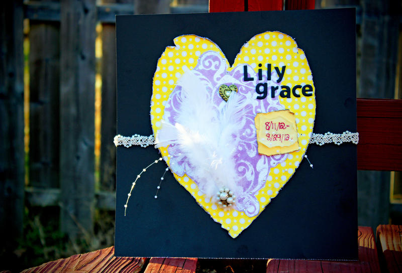 In memory of Lily Grace