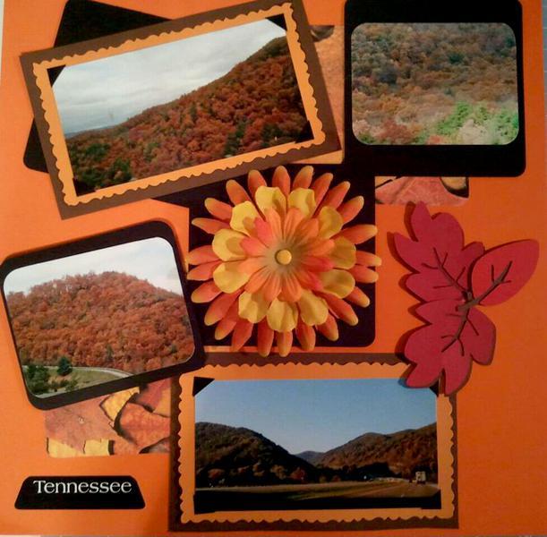 Smoky Mountain in Autumn