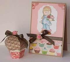 Bildmalarna Cupcake Set