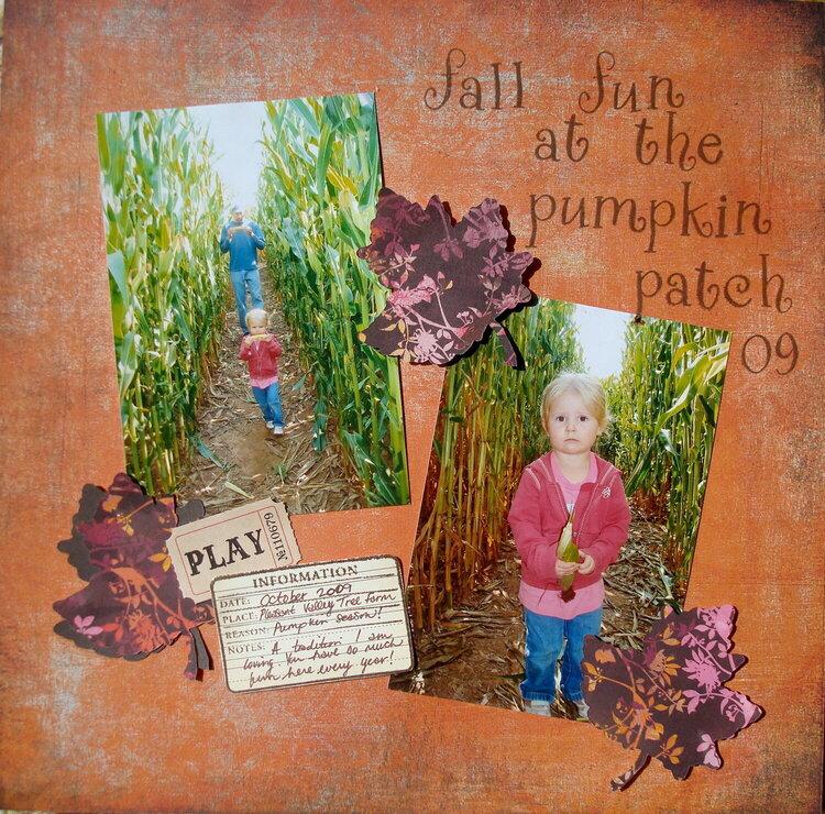 Fall Fun At The Pumpkin Patch~pg1