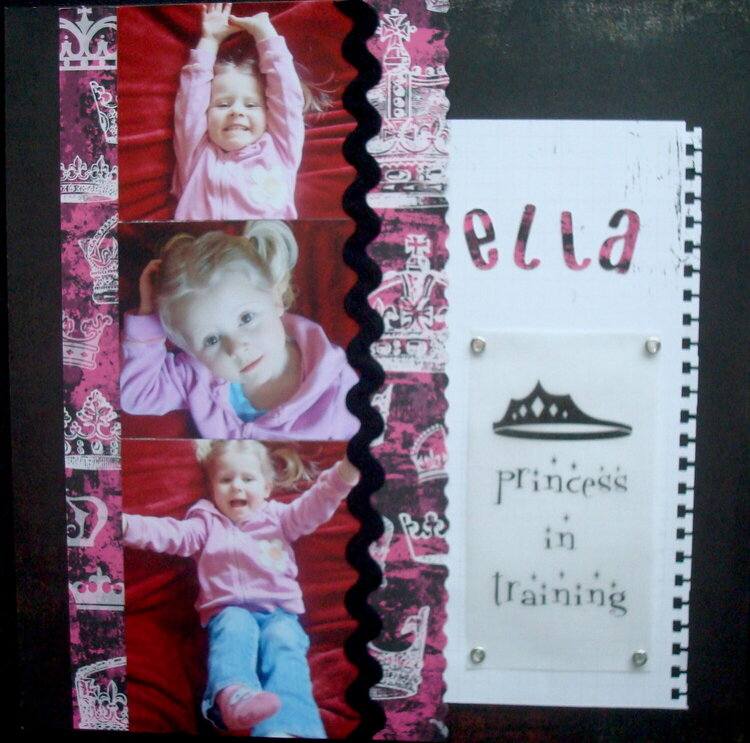 Ella~Princess in Training