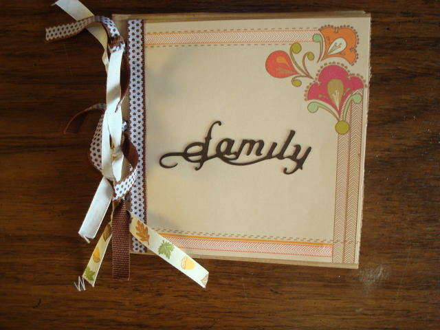 Family Paper Bag Book Cover