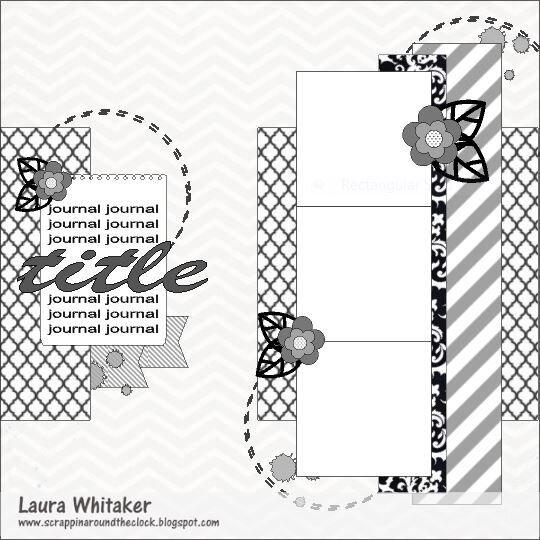 Celebrating Laura Whitaker - Sketch 3