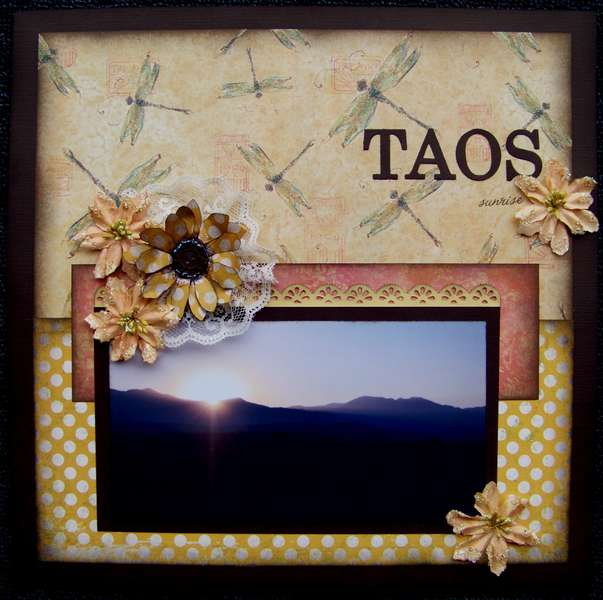 Taos Sunrise ~*~Nuts About Sketches~*~