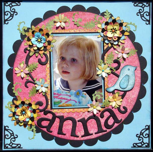 Anna at 3