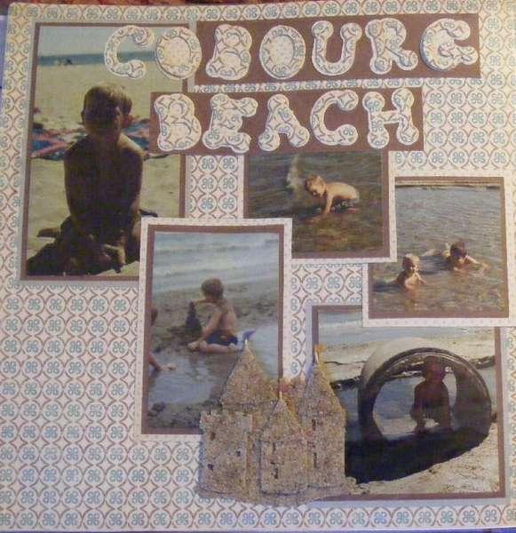 noah at the beach