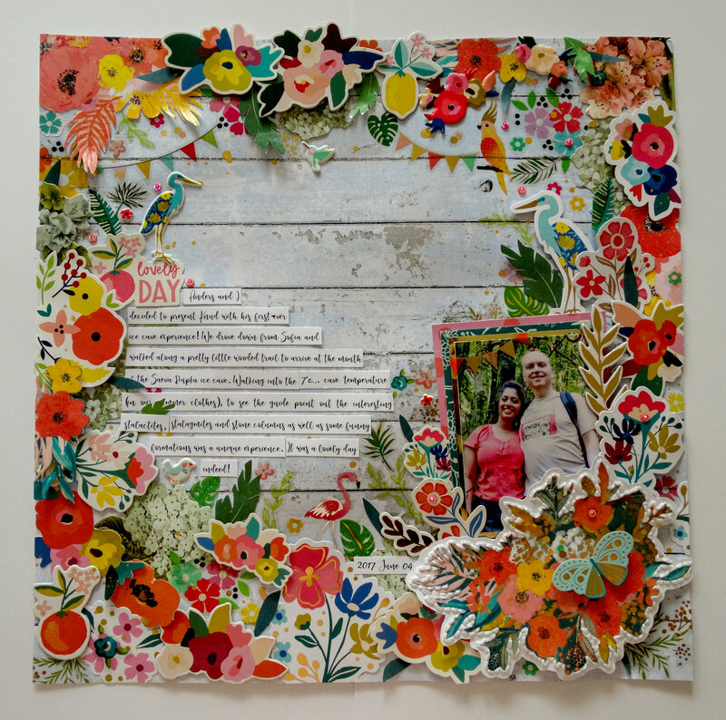 Lovely Day (using Paige Evans and First Edition collections)