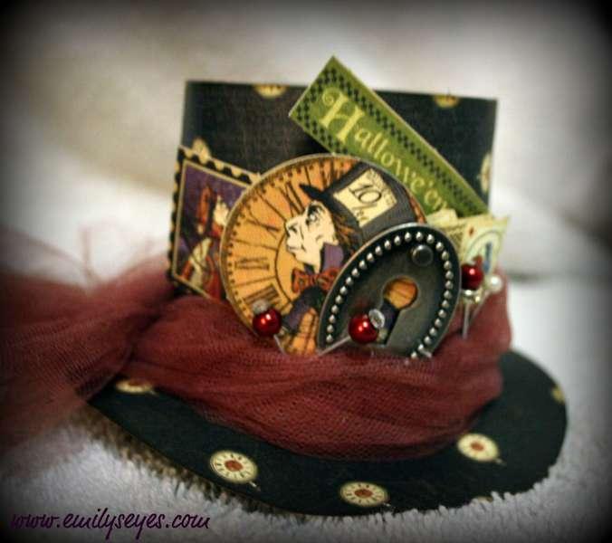 Halloween top Hat closeup