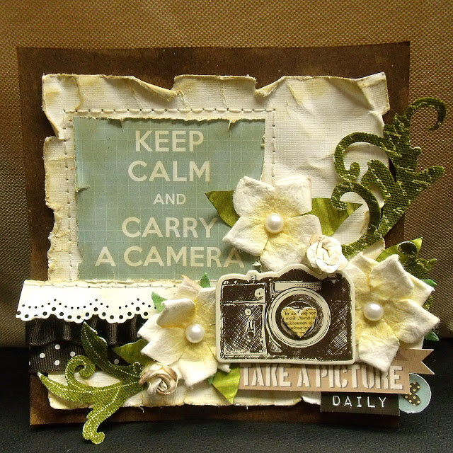 Carry a Camera Mini Canvas (scrap-utopia)